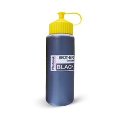 Brother Yazıcılar için uyumlu 500 ml Siyah Mürekkep (PHOTO INK Akıllı Mürekkep) - BROTHER T300 - T500 - T700W UYUMLU