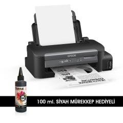 Epson Workforce M100 PHOTOINK Mürekkepli Bitmeyen Kartuşlu (1 Sayfa Siyah Baskı  0,01 TL)