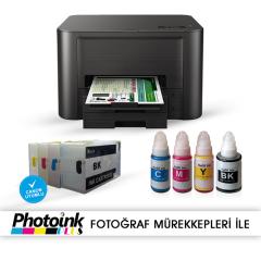 Photoink Mürekkepli Canon Maxify IB4050 Yazıcı ve Dolan Kartuş Sistemi