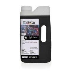 Ricoh Gen4 / Gen5 Kafalar için 1000 ml SİYAH BLACK Tekstil Mürekkep (T-RTP)