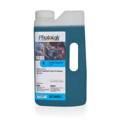 Ricoh Gen4 / Gen5 Kafalar için 1000 ml MAVİ CYAN Tekstil Mürekkep (T-RTP)