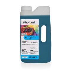 DX5 ve DX7 Kafalar için 1000 ml MAVİ CYAN Pigment Plotter Mürekkep (T-PND)