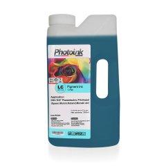 DX5 ve DX7 Kafalar için 1000 ml AÇIK MAVİ LIGHT CYAN Pigment Plotter Mürekkep (T-PND)