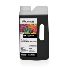 EPSON Stylus Pro için 1000 ml SİYAH BLACK Pigment Plotter Mürekkep (T-EPR)