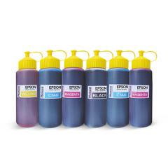 Photoink Epson uyumlu 6x500 ml Mürekkep Seti L100/110/200/210/220/ 300/310/355/455/550 /800/810/850/1300/1800/ l382/l386/l455/1455