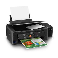 Epson L455 Orijinal 4 Renk Bitmeyen Kartuşlu (1 Sayfa Renkli Baskı  0,02 TL)