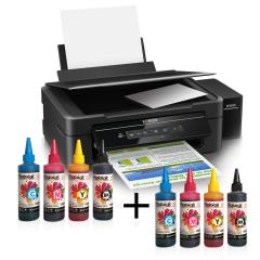Epson L365 Photoink Mürekkepli 4 Renk Bitmeyen Kartuşlu (1 Sayfa Renkli Baskı  0,01 TL)  ...  (1 Set Mürekkep Hediyeli)