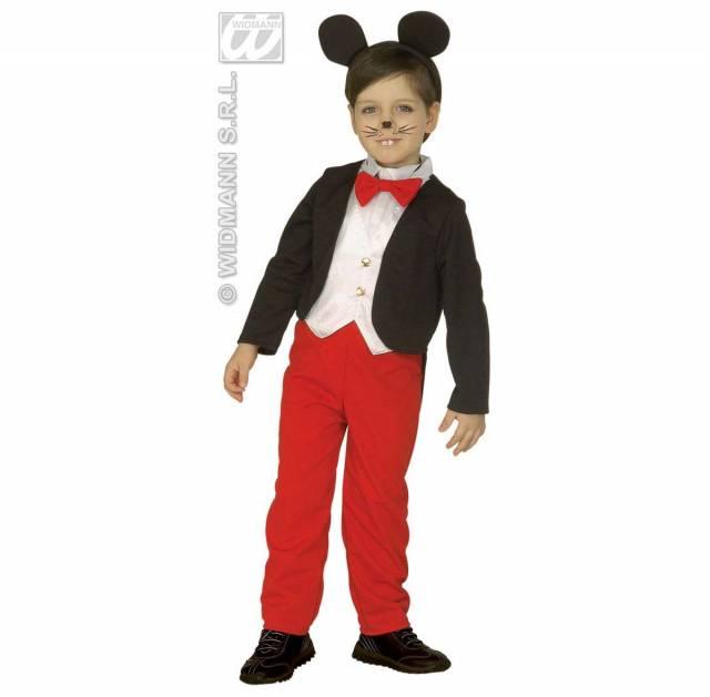 3 5 Yaş Miki Mouse Kostümü