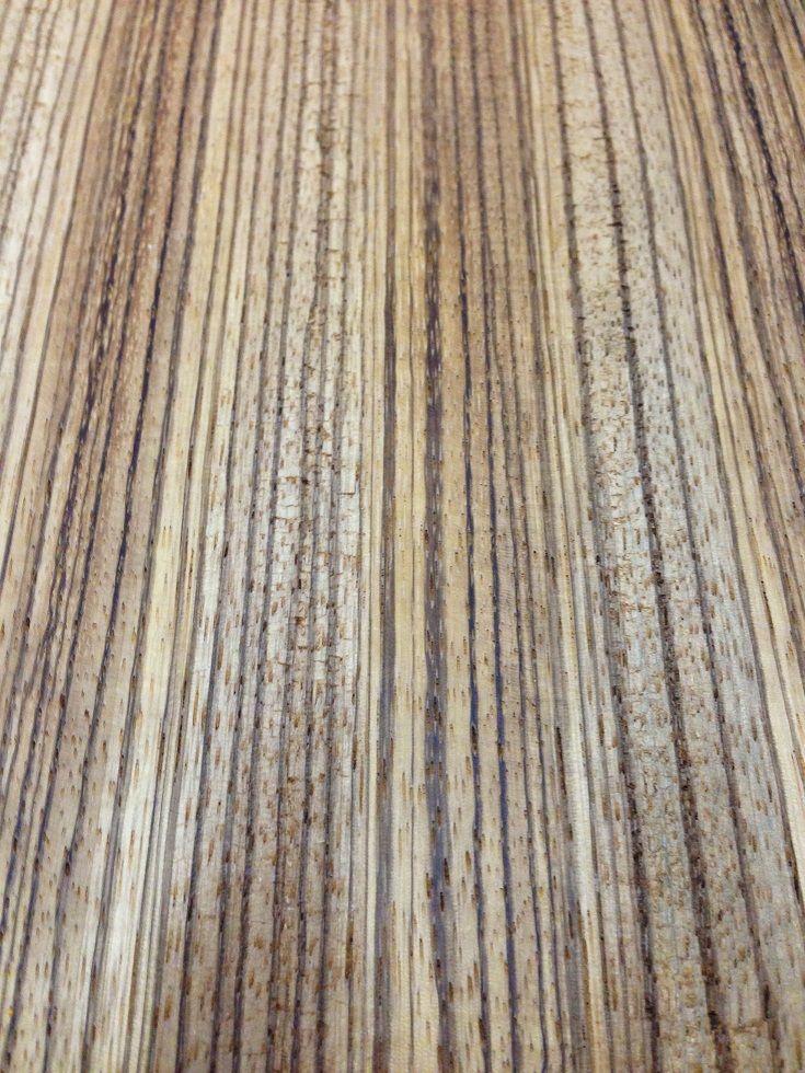 Zebrano / Zeytin Ağacı 21cmx45cmx3mm