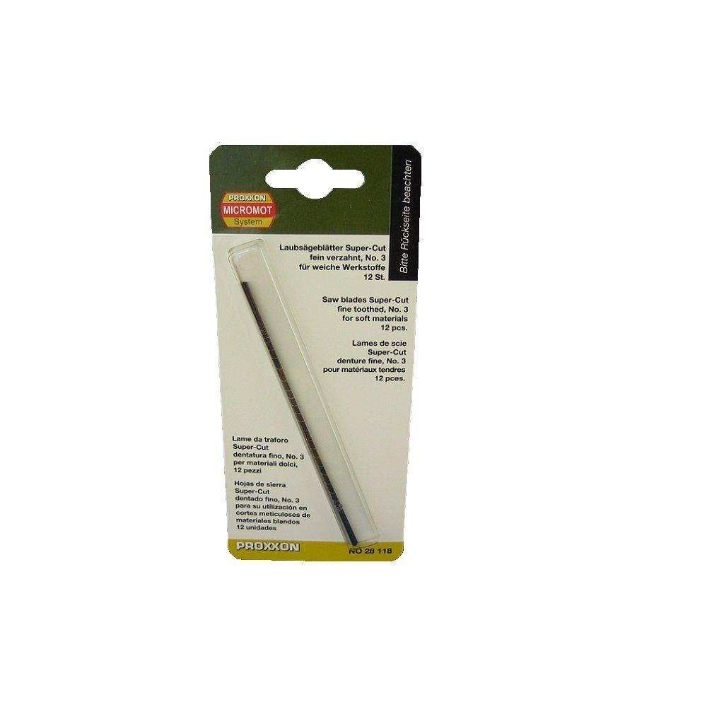Proxxon Kıl Testere Bıçağı 12 Adet 28118