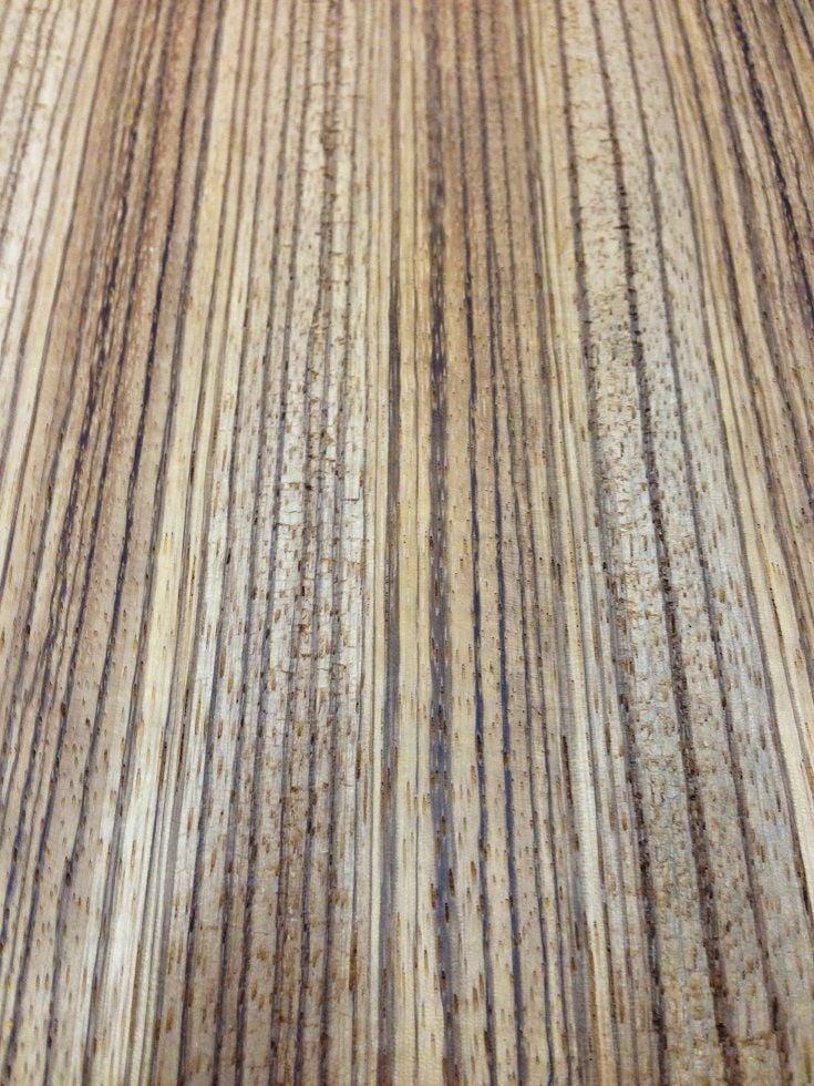 Zebrano / Zeytin Ağacı 15cmx46cmx8mm